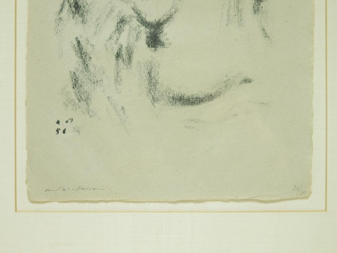 Andre Masson Seated Nude Drypoint Etching 21/30 - 4