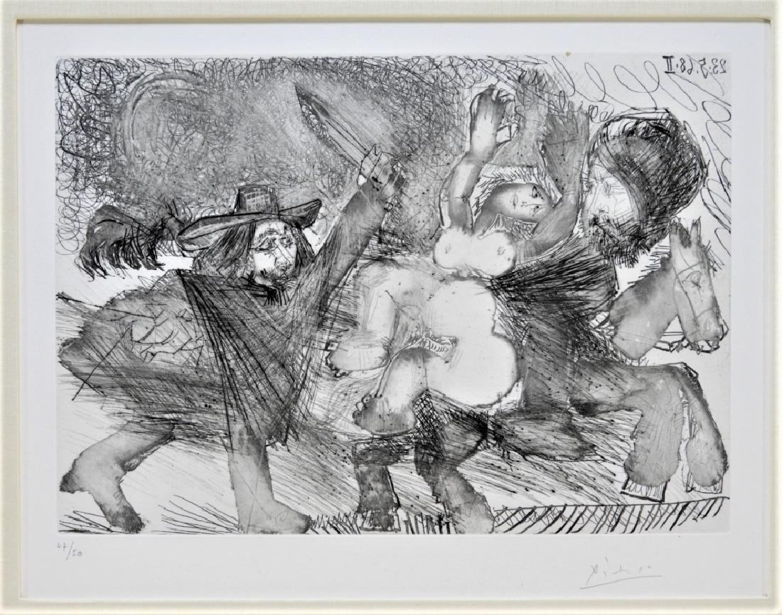 Pablo Picasso Suite 347 No.106 Etching 47/50