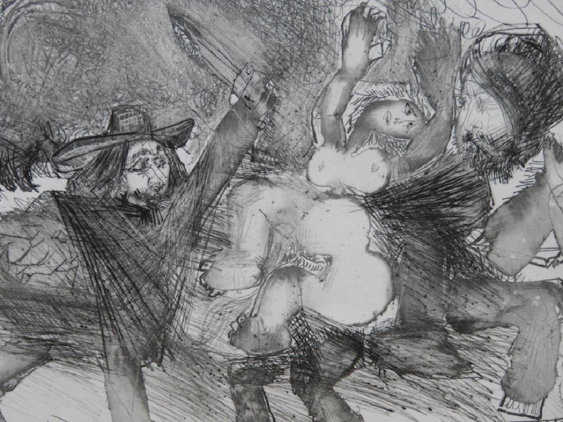 Pablo Picasso Suite 347 No.106 Etching 47/50 - 2