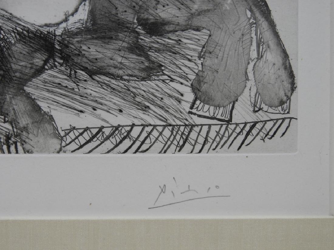 Pablo Picasso Suite 347 No.106 Etching 47/50 - 3