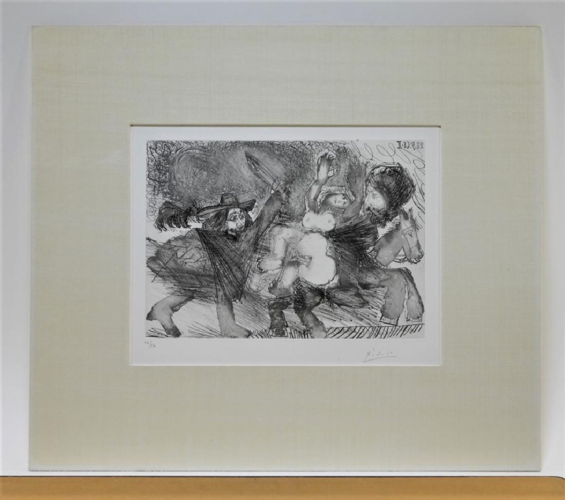 Pablo Picasso Suite 347 No.106 Etching 47/50 - 5