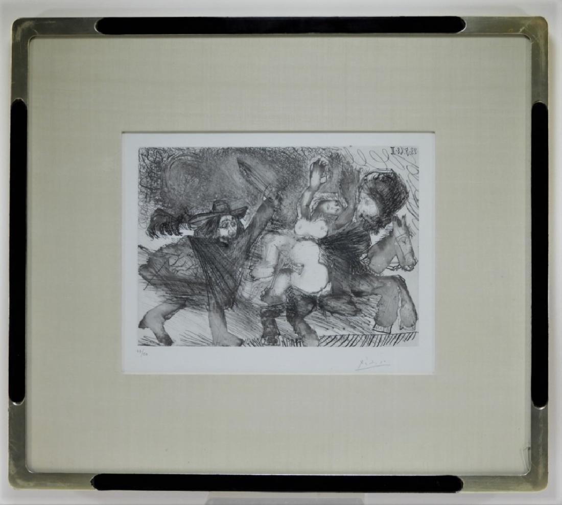 Pablo Picasso Suite 347 No.106 Etching 47/50 - 6