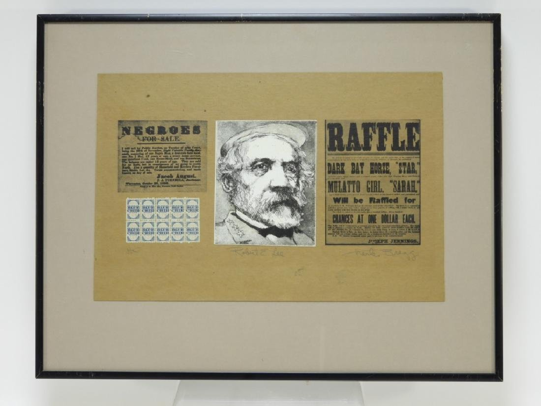 Charles Bragg Robert E. Lee Etching Assemblage - 2