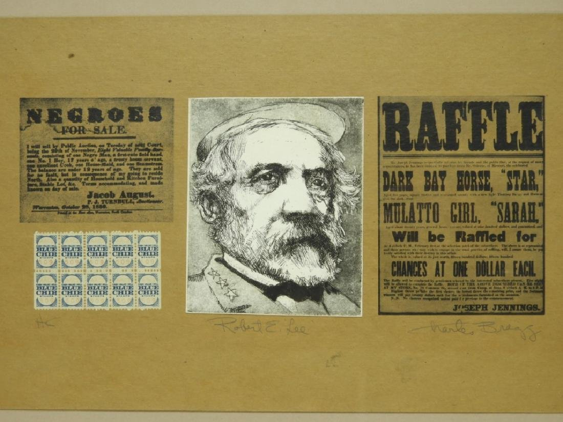 Charles Bragg Robert E. Lee Etching Assemblage - 3