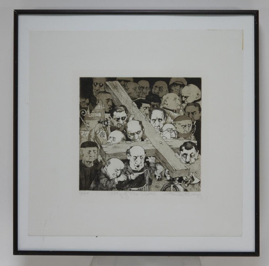 Charles Bragg Way of the Cross Etching 31/100 - 2