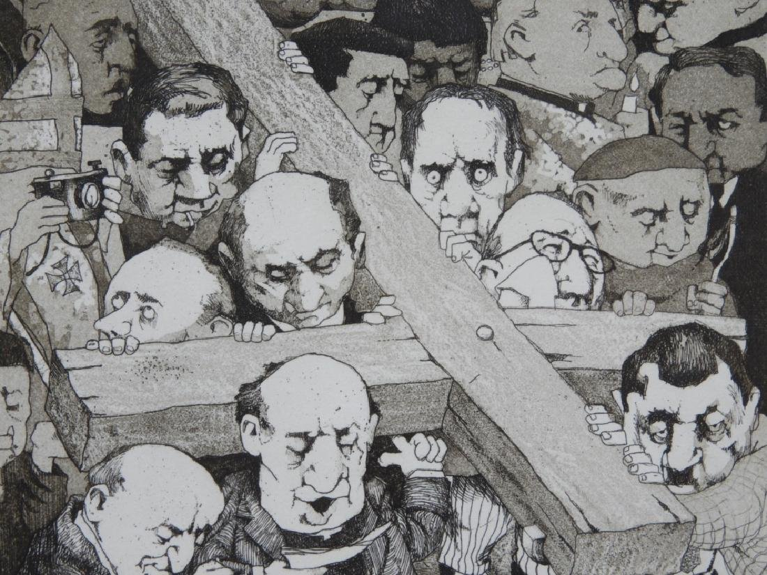Charles Bragg Way of the Cross Etching 31/100 - 3