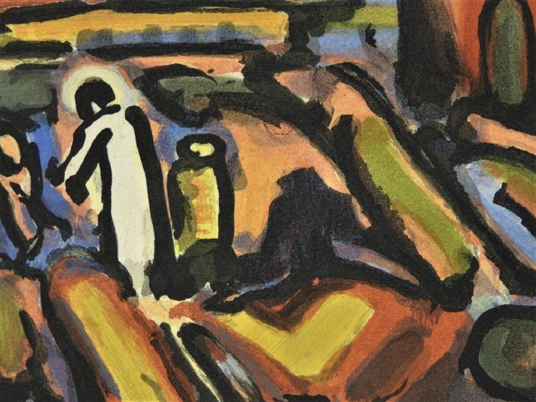 Georges Rouault Christ au Fauborg Etching Aquatint - 2