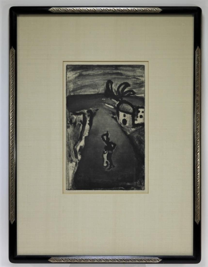Georges Rouault Landscape with Negress Etching - 5