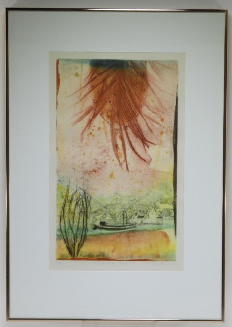 Rene Carcan Calm of the Sun Aquatint Etching - 2