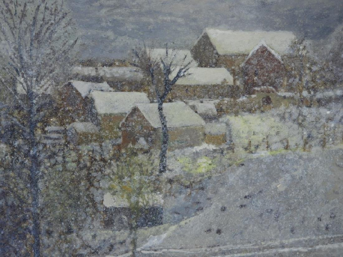 Jan Bonal Impressionist Winter Landscape Painting - 3