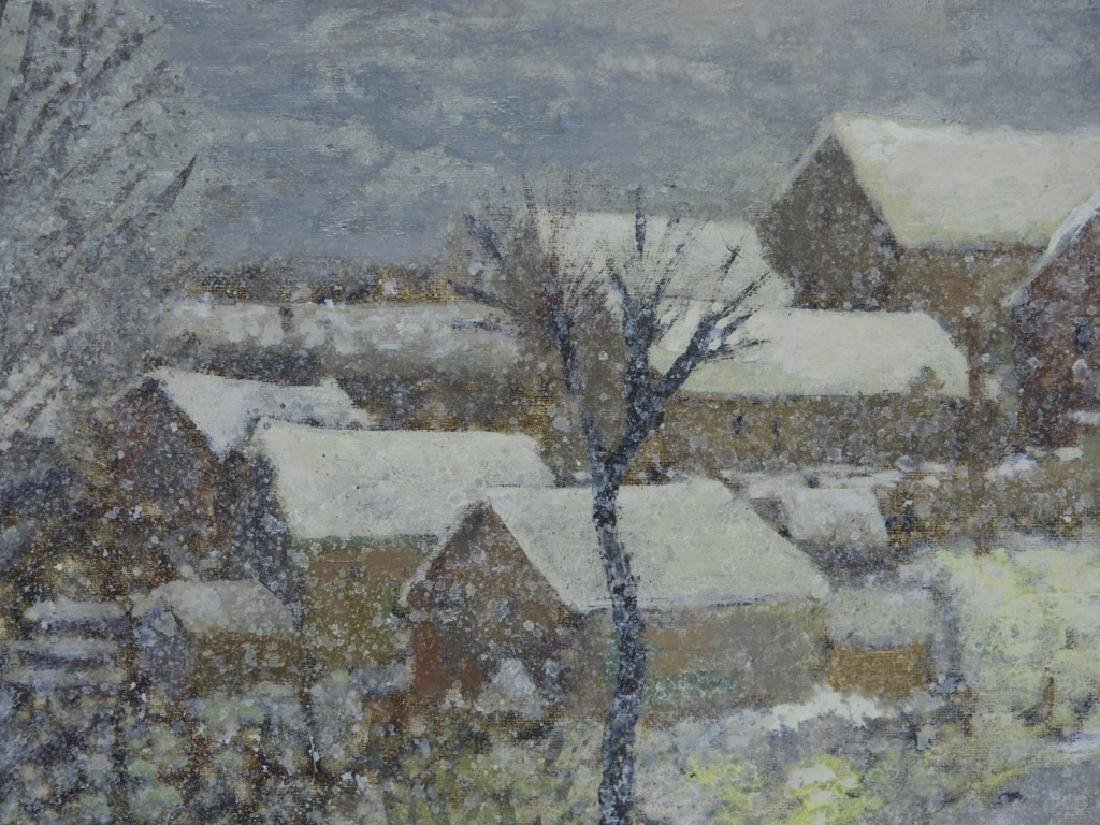 Jan Bonal Impressionist Winter Landscape Painting - 4