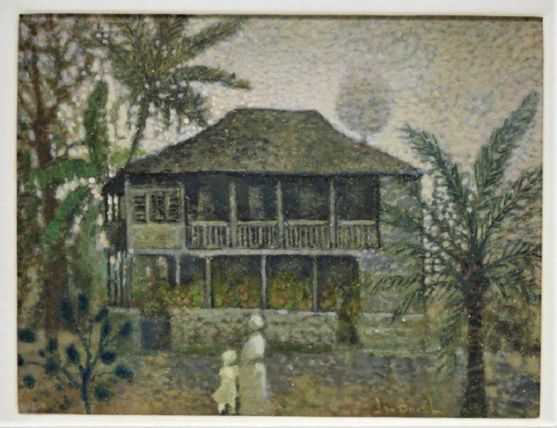 Jean Bonal New Orleans Creole Landscape Painting