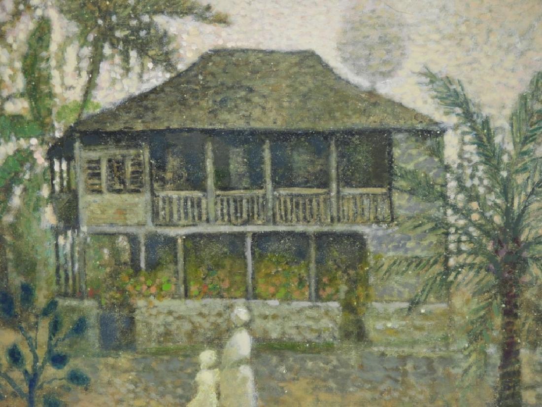 Jean Bonal New Orleans Creole Landscape Painting - 3