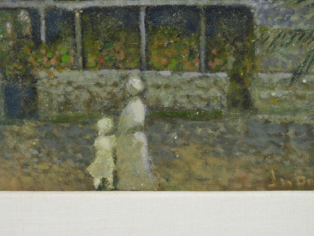 Jean Bonal New Orleans Creole Landscape Painting - 4