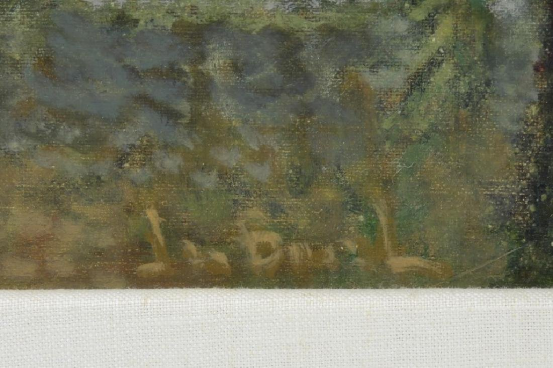 Jean Bonal New Orleans Creole Landscape Painting - 5