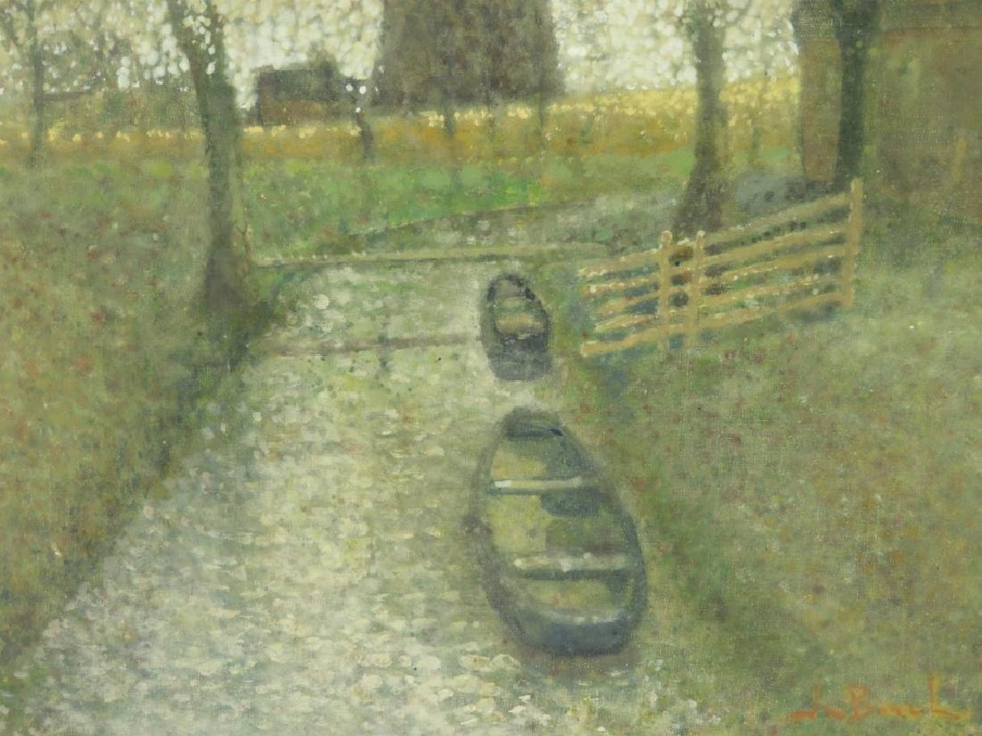 Jean Bonal Dutch Farm Landscape Painting - 2