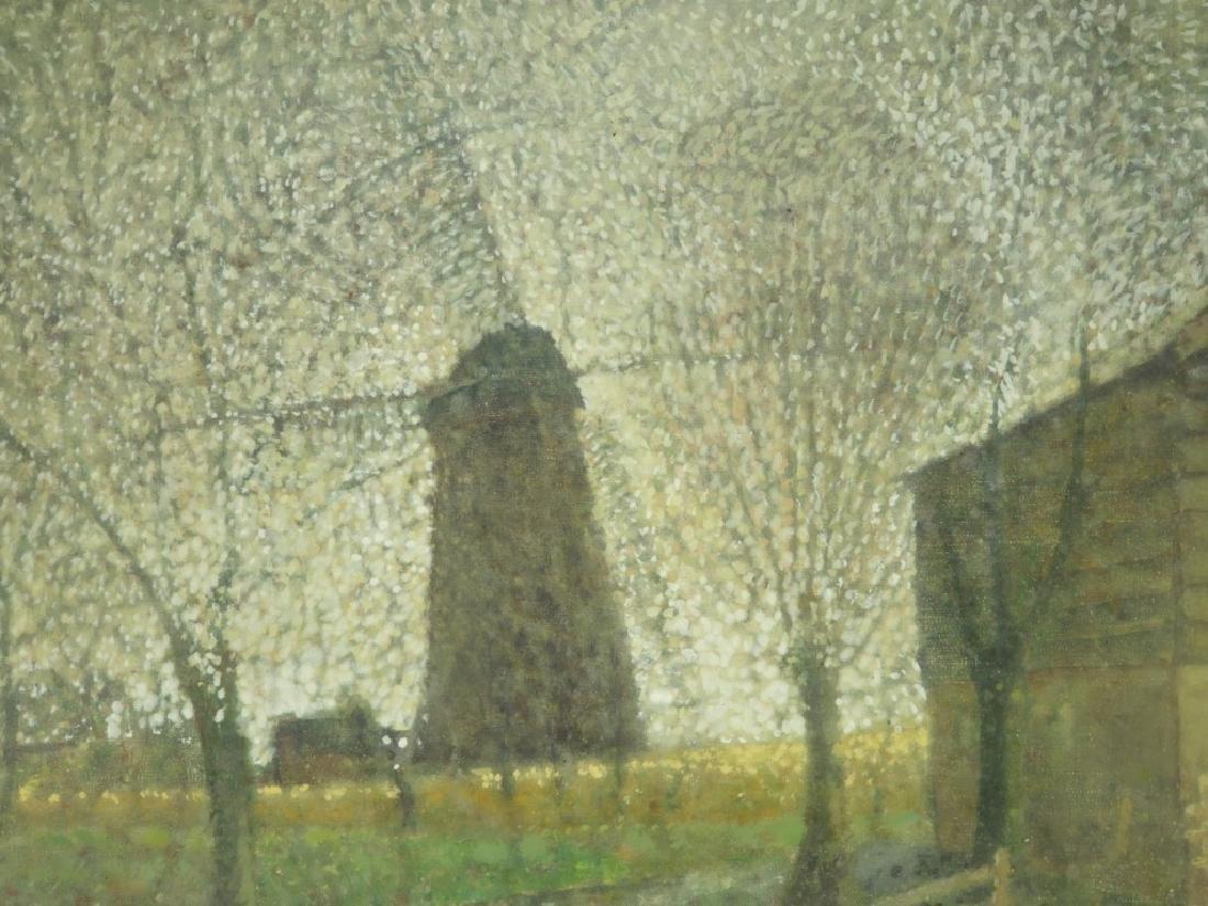 Jean Bonal Dutch Farm Landscape Painting - 3