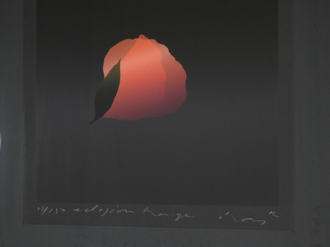 Kozo Inoue Eclosion Range Modern Floral Serigraph - 3