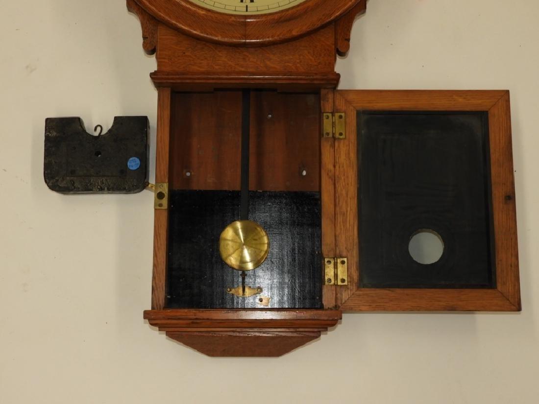 C.1890 E. Howard Boston No.70 Wall Regulator Clock - 10