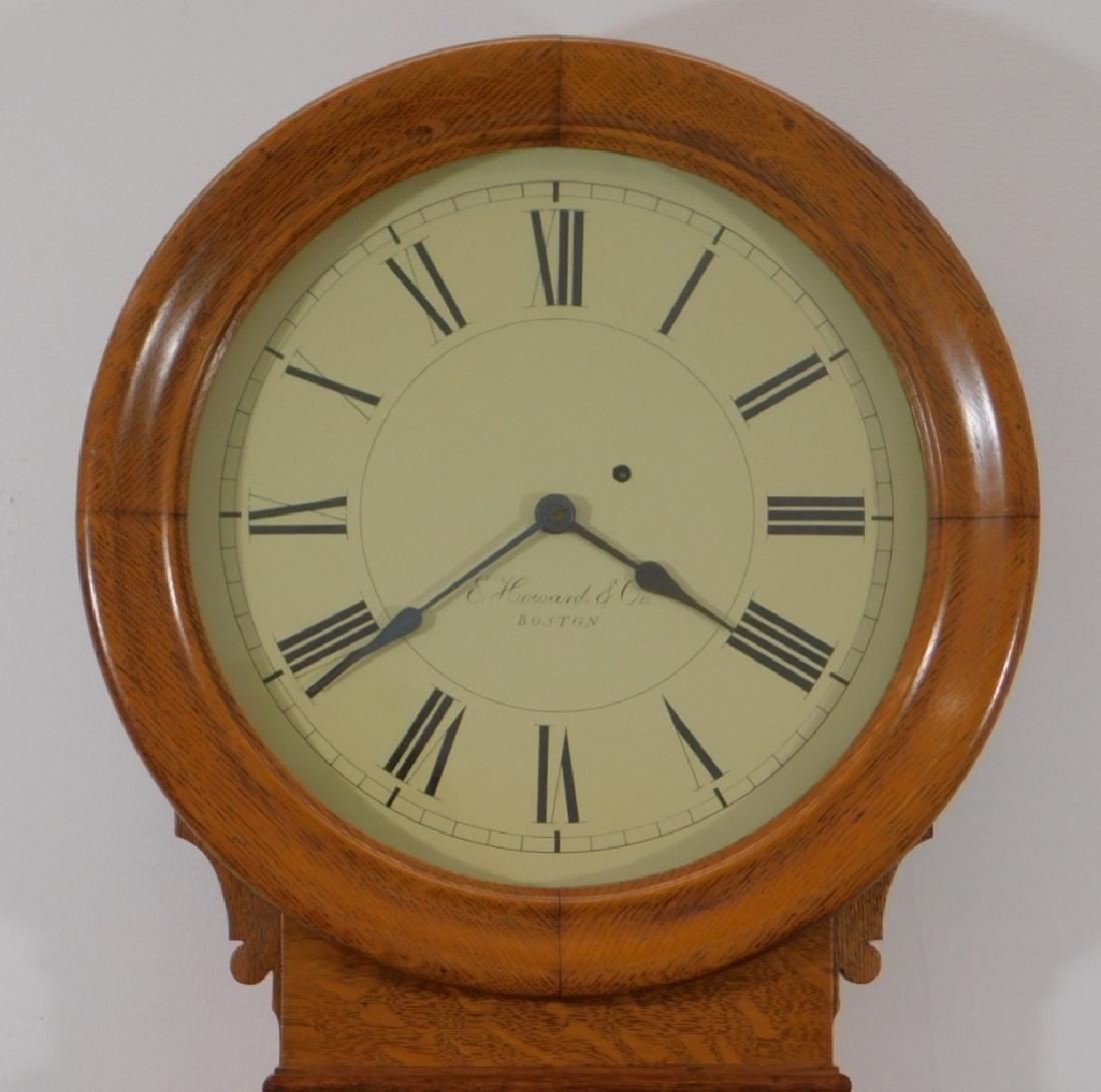 C.1890 E. Howard Boston No.70 Wall Regulator Clock - 2