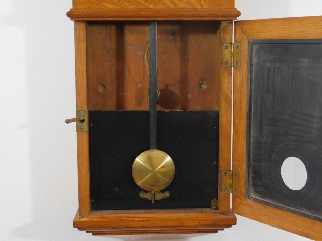 C.1890 E. Howard Boston No.70 Wall Regulator Clock - 3