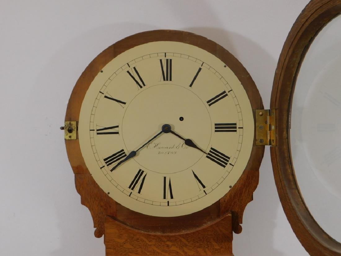 C.1890 E. Howard Boston No.70 Wall Regulator Clock - 4
