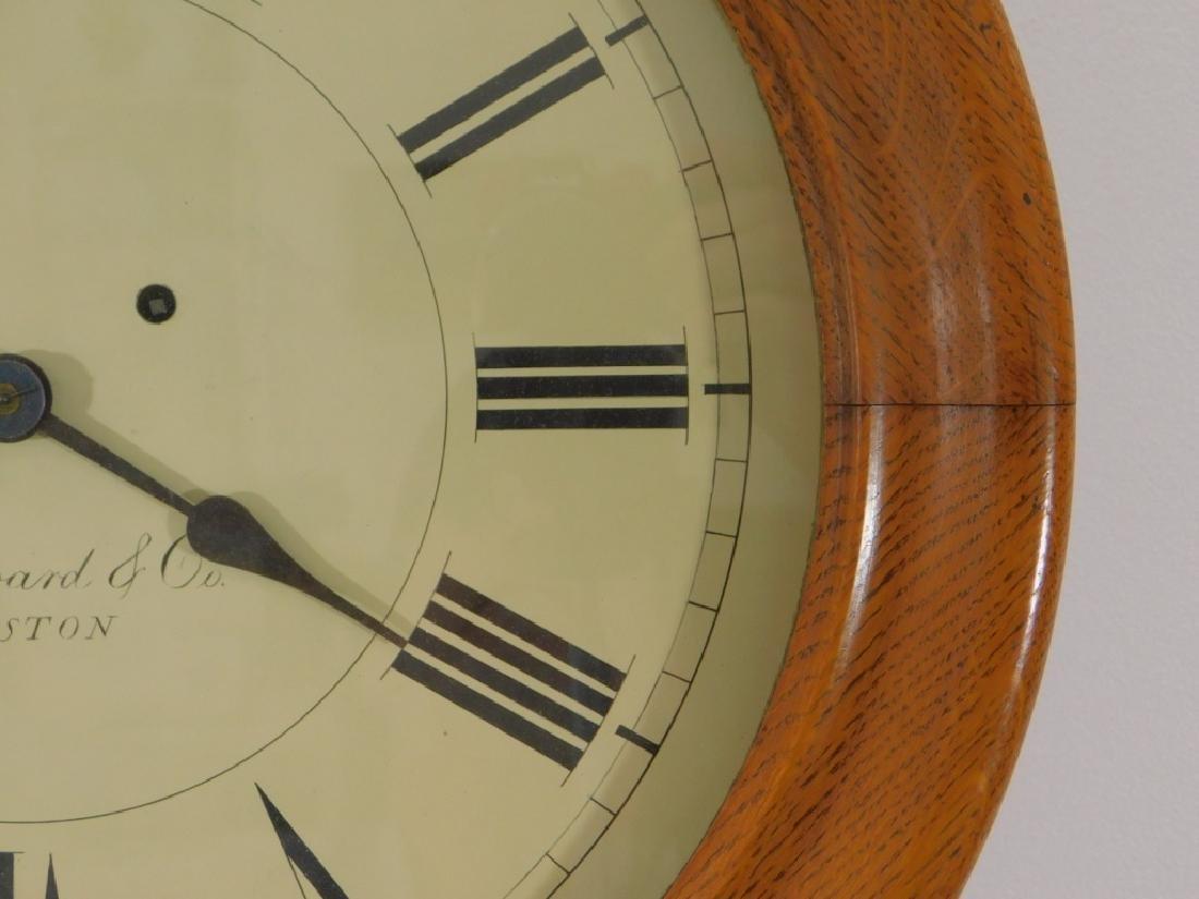 C.1890 E. Howard Boston No.70 Wall Regulator Clock - 5