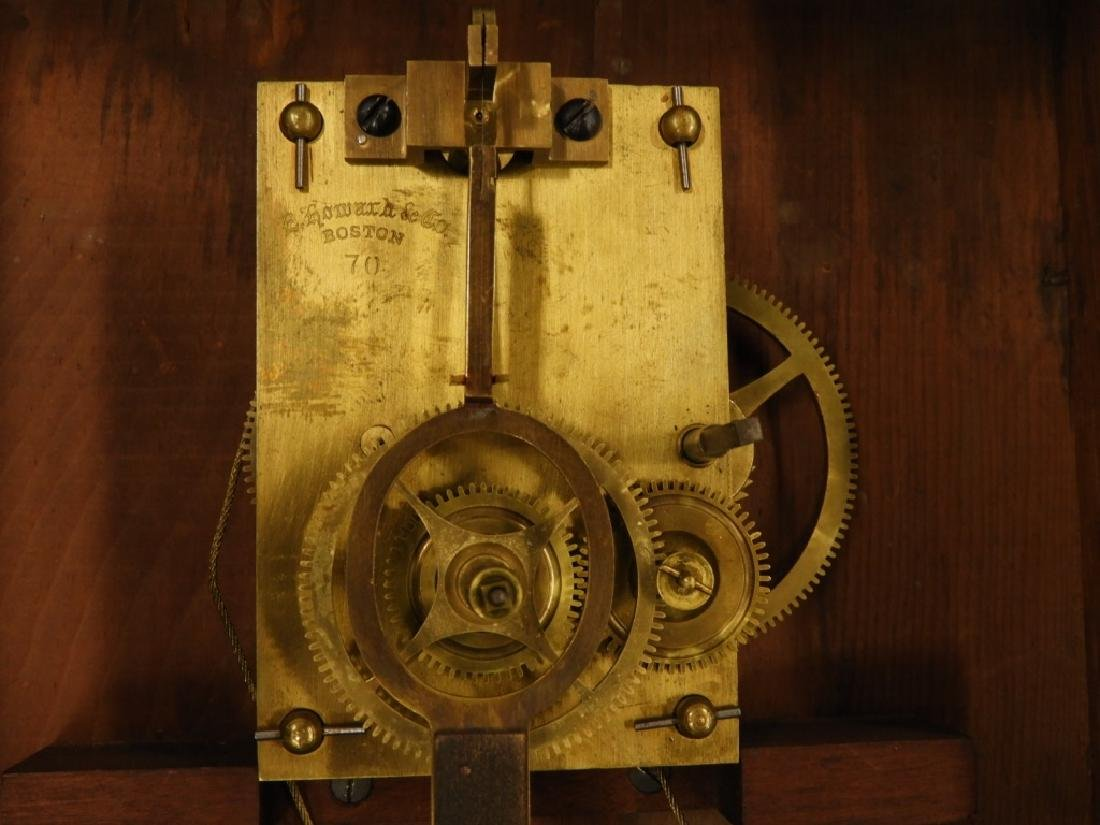 C.1890 E. Howard Boston No.70 Wall Regulator Clock - 8
