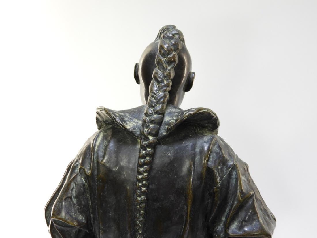 PR Ugolino Panichi Japonisme Bronze Sculpture - 10
