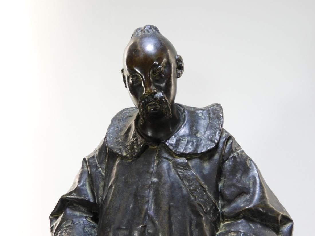 PR Ugolino Panichi Japonisme Bronze Sculpture - 2
