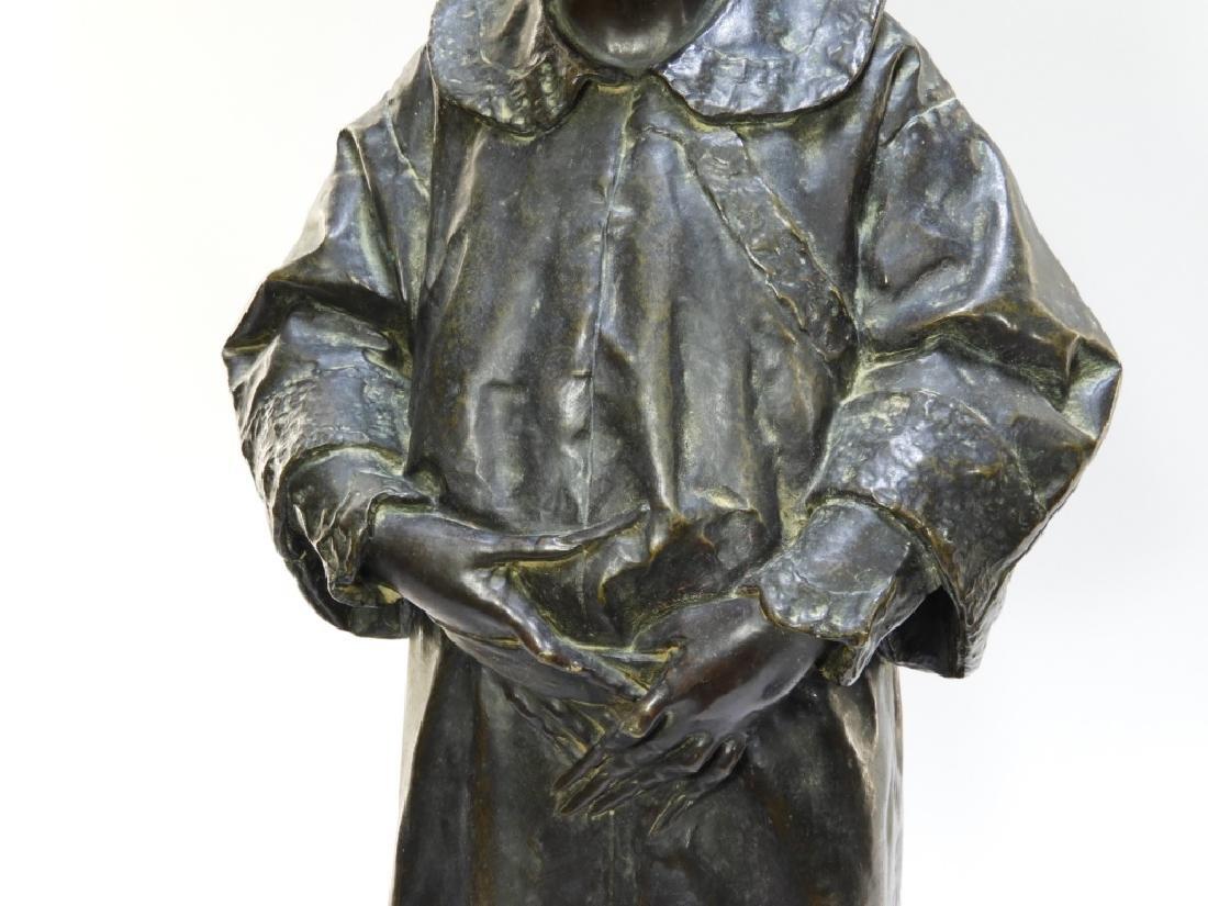 PR Ugolino Panichi Japonisme Bronze Sculpture - 4