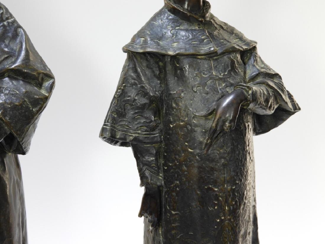 PR Ugolino Panichi Japonisme Bronze Sculpture - 5