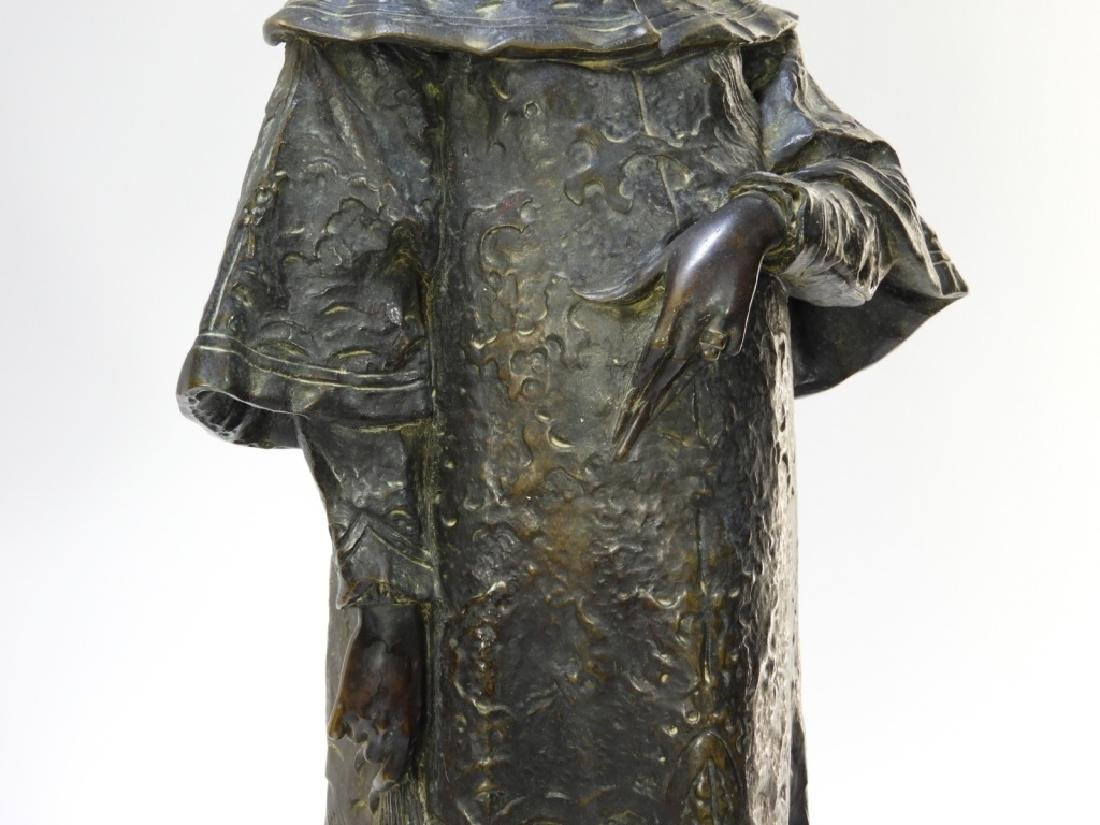 PR Ugolino Panichi Japonisme Bronze Sculpture - 6