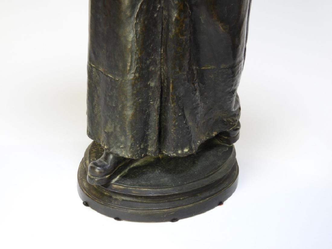 PR Ugolino Panichi Japonisme Bronze Sculpture - 7