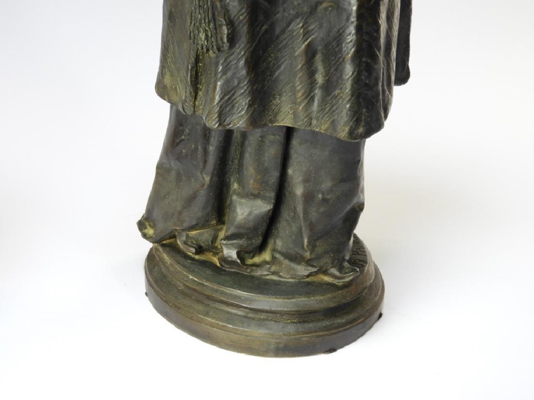 PR Ugolino Panichi Japonisme Bronze Sculpture - 8
