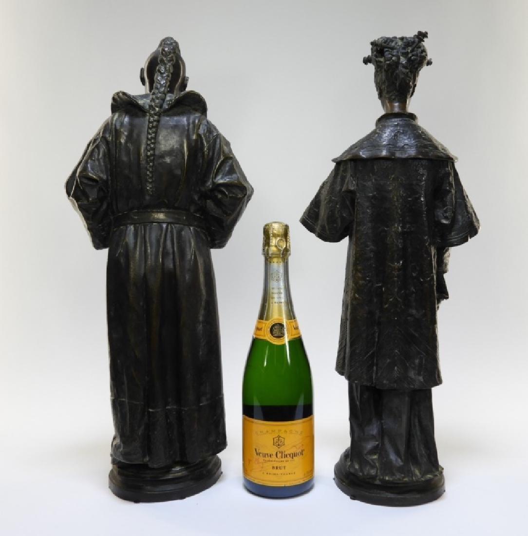 PR Ugolino Panichi Japonisme Bronze Sculpture - 9