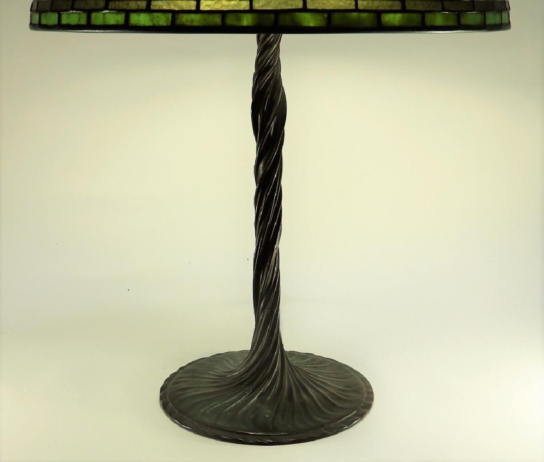 Tiffany Studios Poppy Twisted Vine Table Lamp - 9