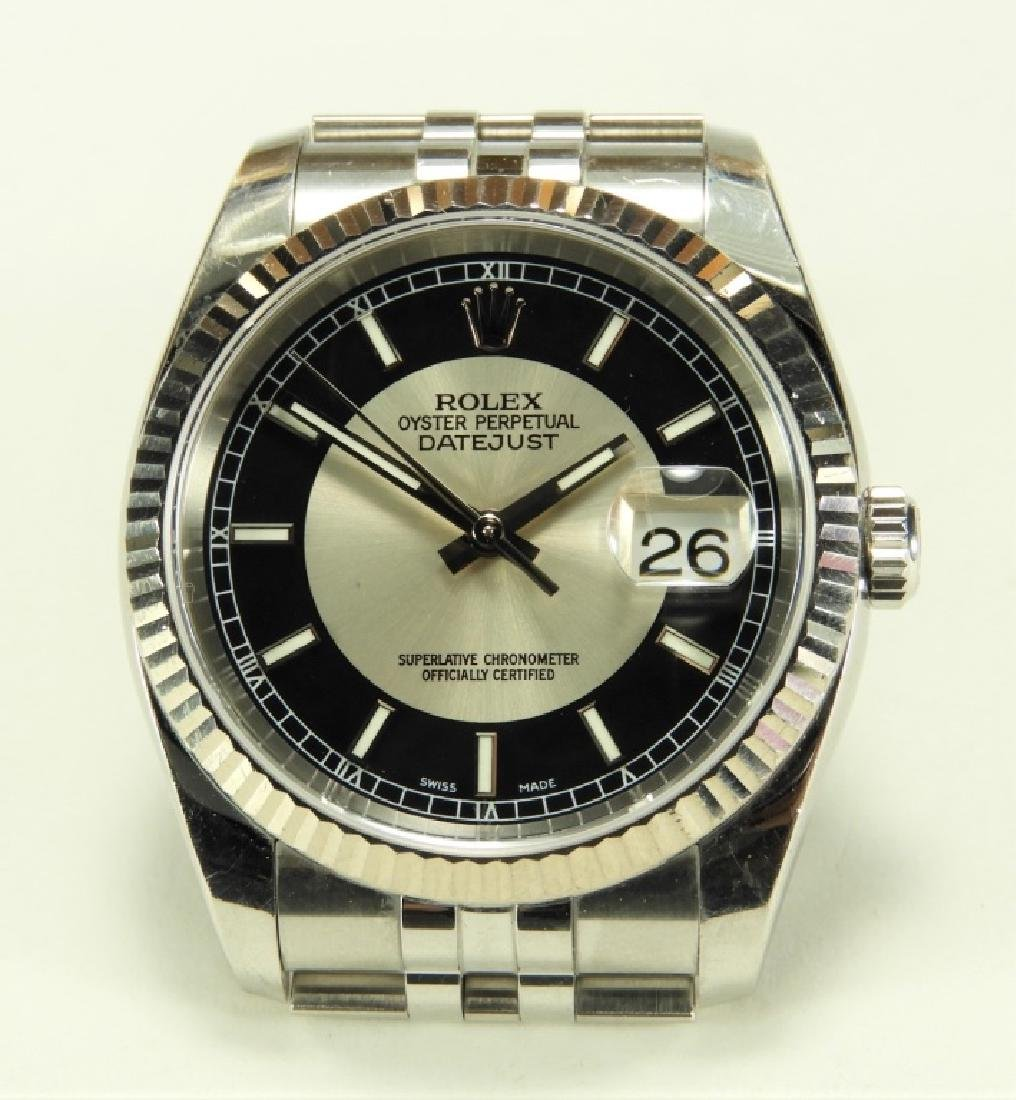 Men's Rolex Oyster Perpetual Datejust SS Watch