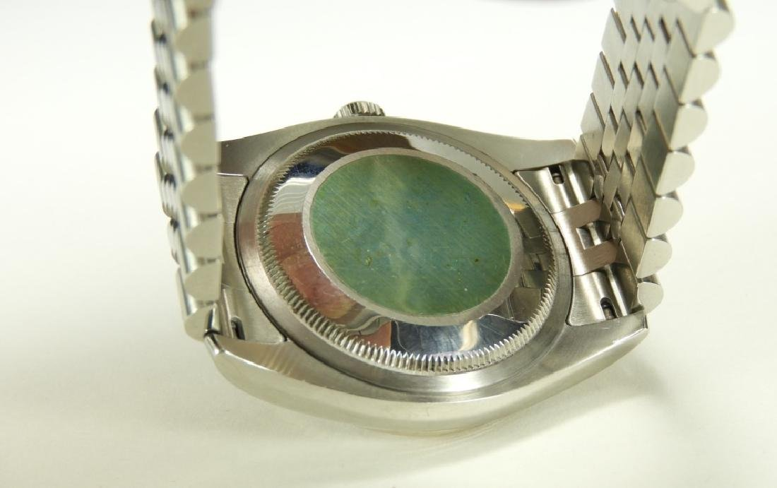 Men's Rolex Oyster Perpetual Datejust SS Watch - 5