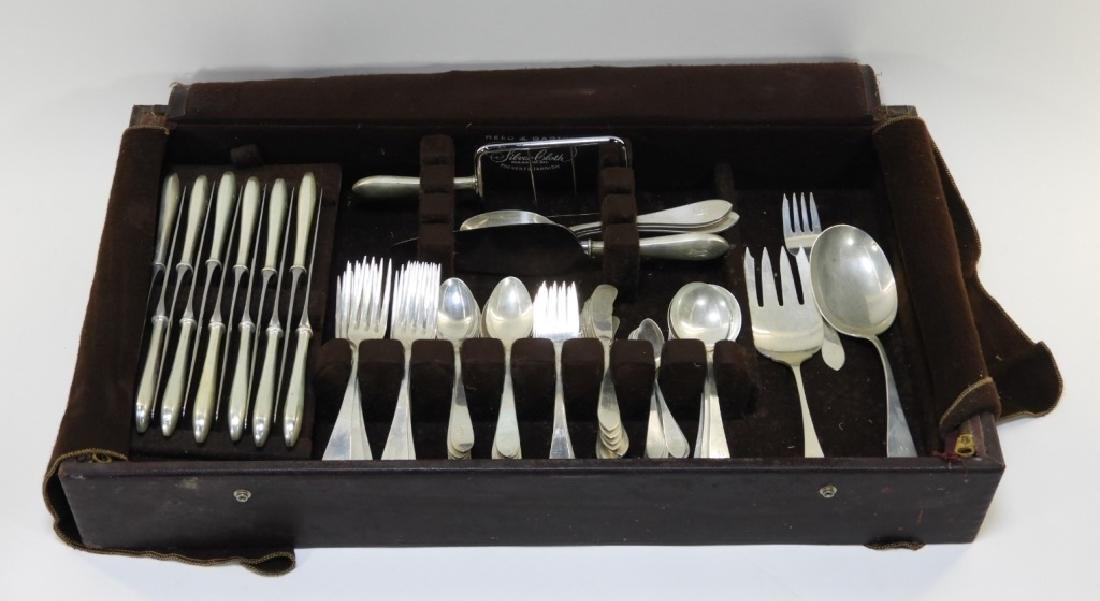 Wallace Puritan Sterling Silver Flatware Service