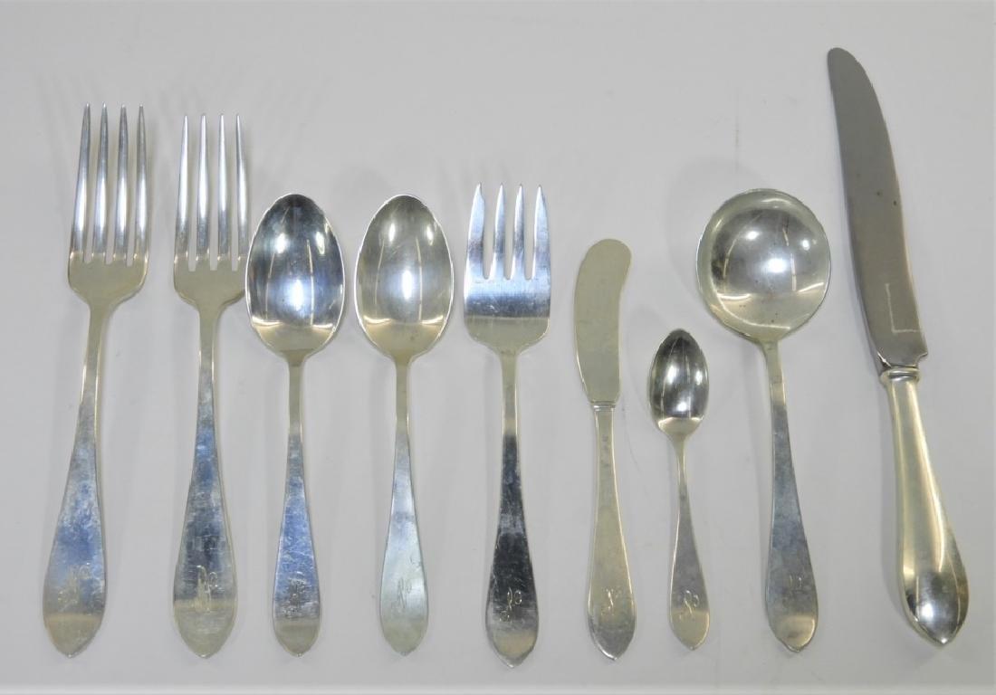 Wallace Puritan Sterling Silver Flatware Service - 2