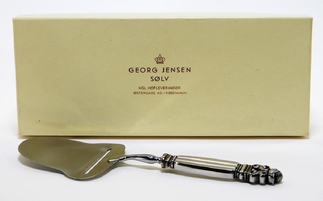 Georg Jensen Acorn Sterling Silver Cheese Slicer