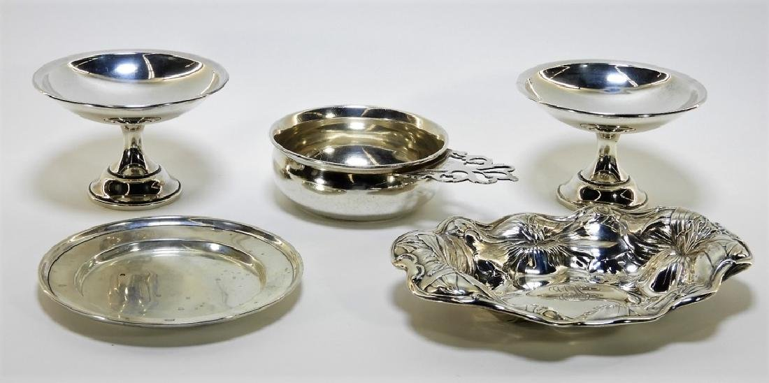 Estate Sterling Silver Hollow Ware Grouping