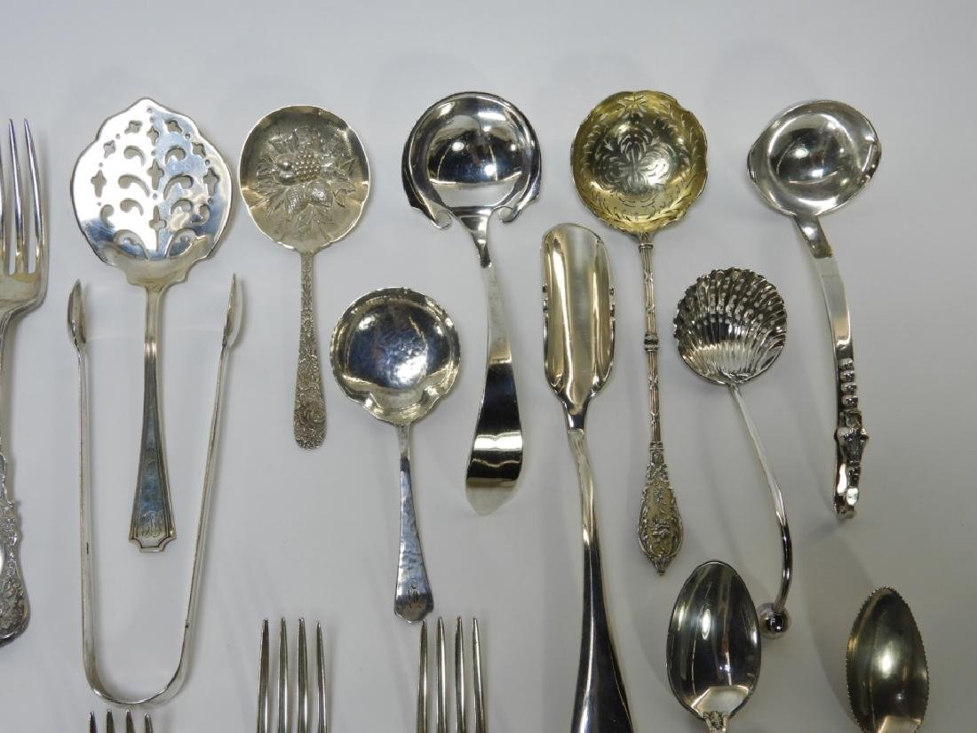 Estate Sterling Silver Flatware Grouping 55 ozt - 3