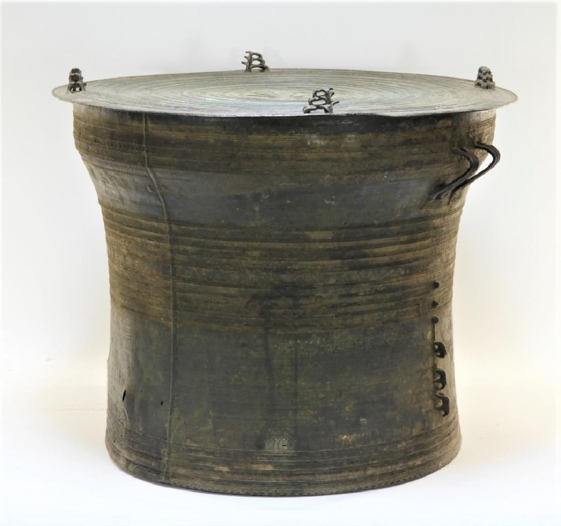 17C. South East Asian Bronze Rain Drum