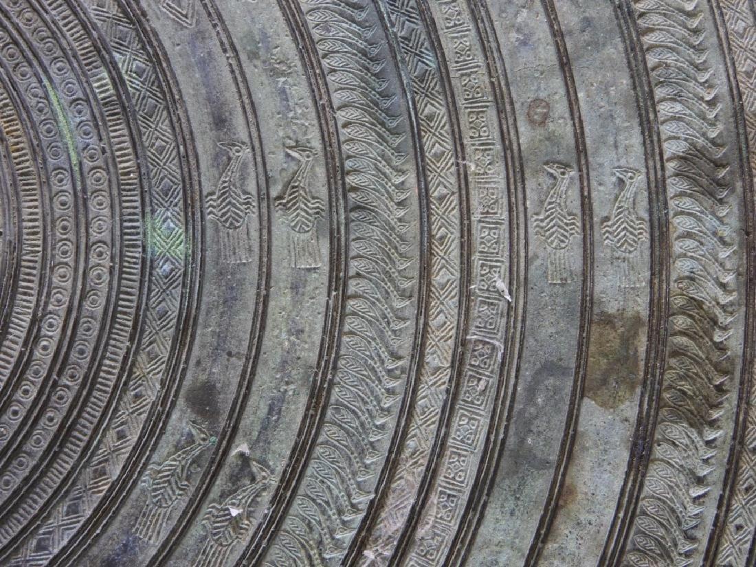 19C. South East Asian Bronze Rain Drum - 10