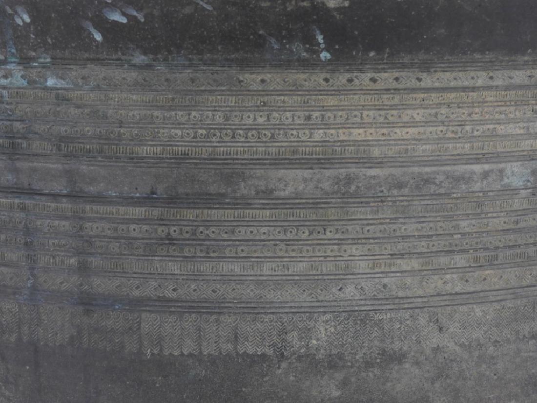 19C. South East Asian Bronze Rain Drum - 4