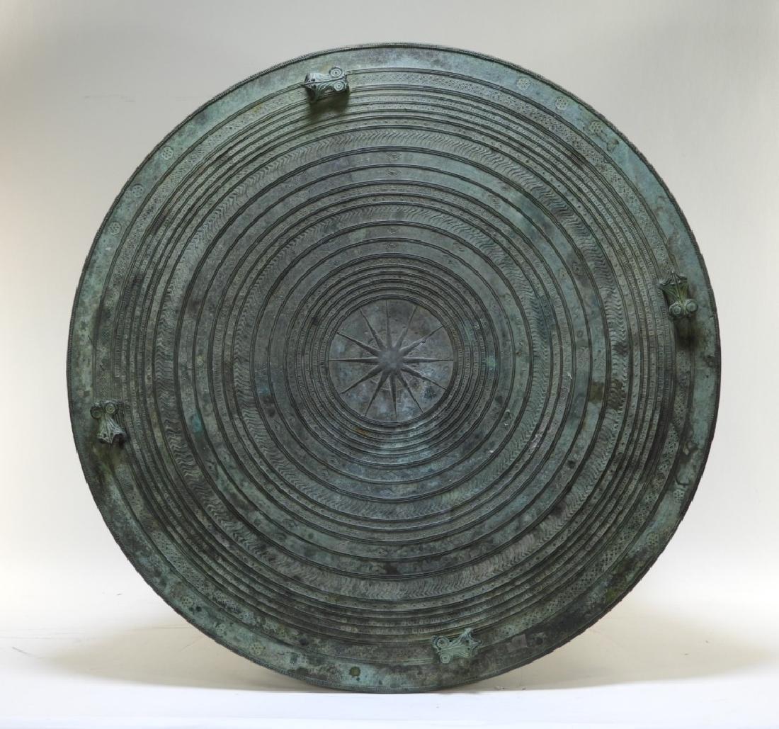 19C. South East Asian Bronze Rain Drum - 8