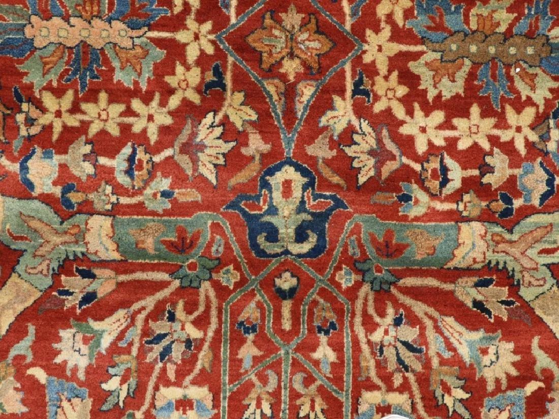 Oriental Persian Tabriz Pattern Carpet Rug - 2