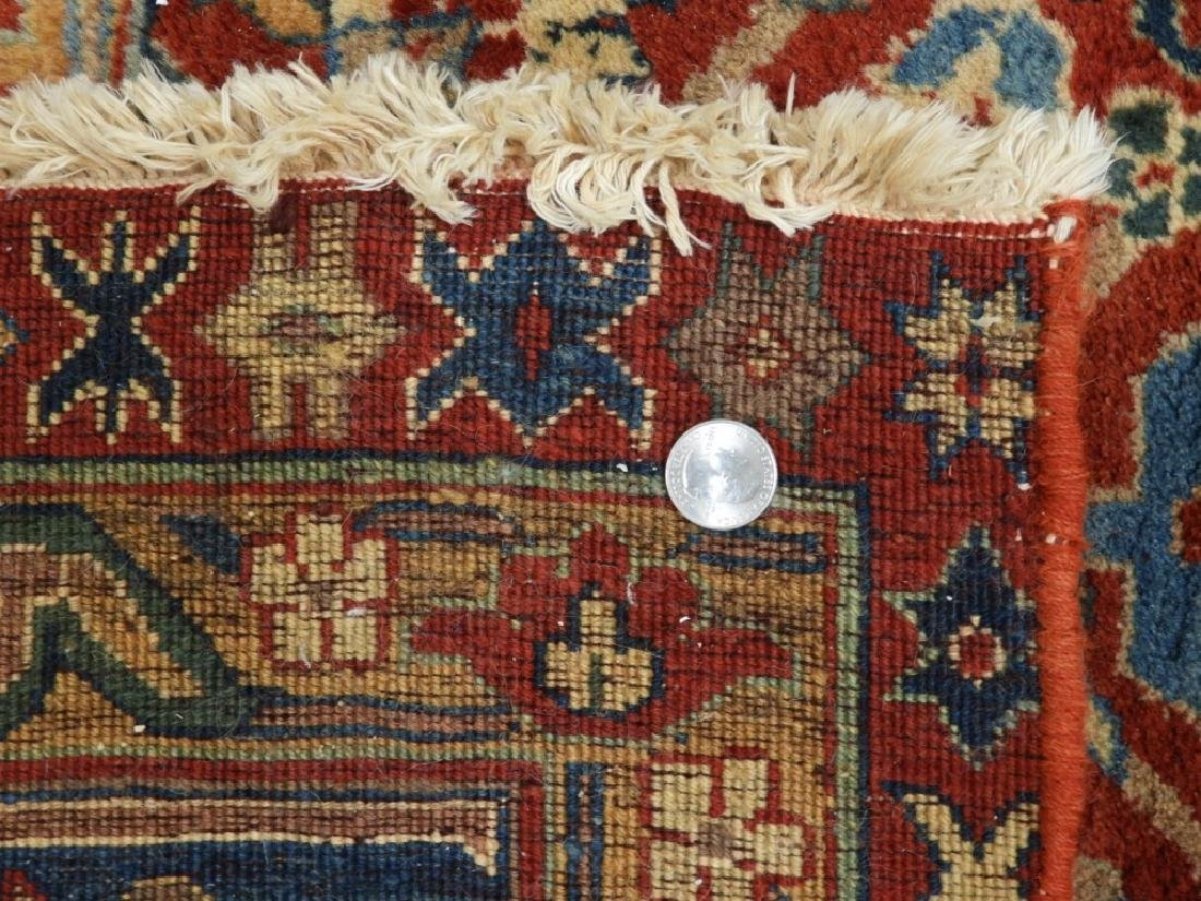 Oriental Persian Tabriz Pattern Carpet Rug - 6